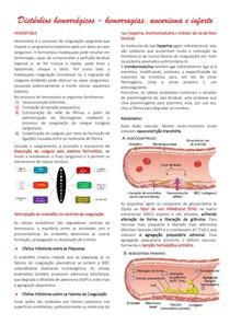 Distúrbios hemorrágicos - hemorragias, aneurisma e infarto