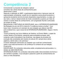 Competência 2 da redação do ENEM