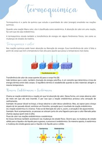 Termoquímica - química