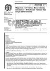 NBR 6015   Maquinas rodoviarias   Escavadeiras hidraulicas   Metodos de medicao das forcas da fer