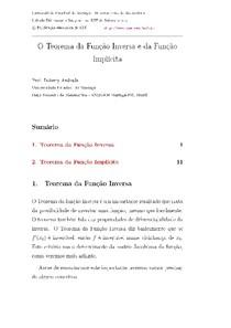 Teor. inversa e implicita