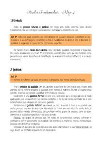 09 - Direitos Fundamentais Artigo 5º