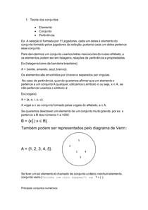 Matematica para Computação R-01