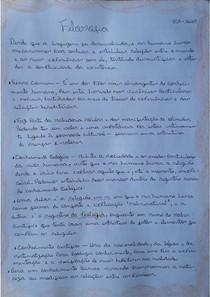 Filosofia SSA2- Linguagem