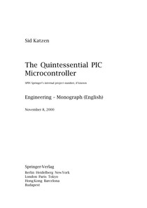 Quintessential PIC Microcontroller
