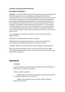 APS Função e disfunção II - UAM