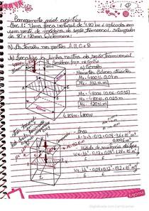 Aula resistência anotação - carregamento axial excêntrico
