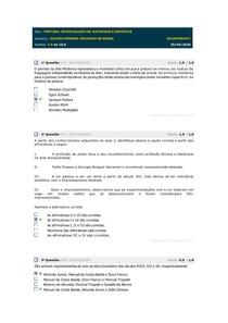 PINTURA INVESTIGAÇÃO DE MATERIAIS E SUPORTES simulado 1