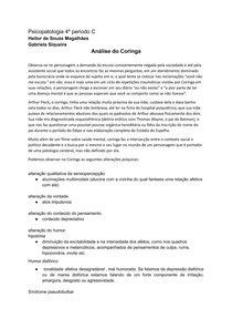 Analise de Psicopatologia do Coringa