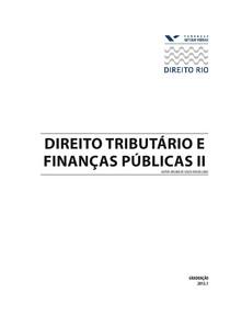 DIREITO_TRIBUTARIO_E_FINANCAS_PUBLICAS_II_2012-1
