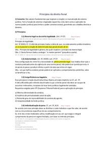 Direito Penal I - 2º Bimestre