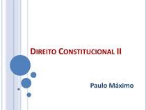 Direito Constitucional II - 2018-1 - Aula 22 - Poder Judiciário - parte 3