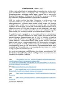 APS_COE Brasil x COE Europa e EUA