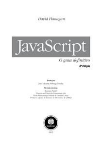 JavaScript O Guia Definitivo [Portugues]
