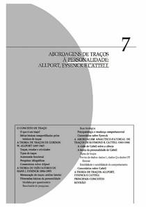 Personalidade   Teoria e Pesquisa cap 7 e 8