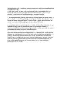 Resenha de Bioquimica (1)