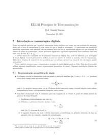 Introdução a comunicações digitais   Princípios de Telecomunicações   Instituto Tecnológico de Aeronáutica