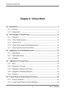 8   Virtual Work