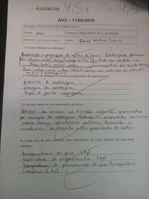 PROCESSOS I PROF MARIO BITTENCOURT AV2