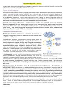Regeneração celular e tecidual