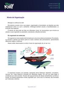 Biokrill - Níveis de Organização