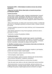 ENFERMIDADES DO SISTEMA NERVOSO DE ANIMAIS DOMÉSTICOS