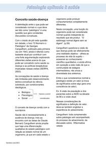 Concepção sobre saúde-doença - Psicologia aplicada à saúde