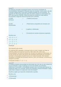 Gestão de sistemas de informação Unidade 1 e 2