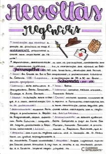 REVOLTAS REGENCIAIS 1