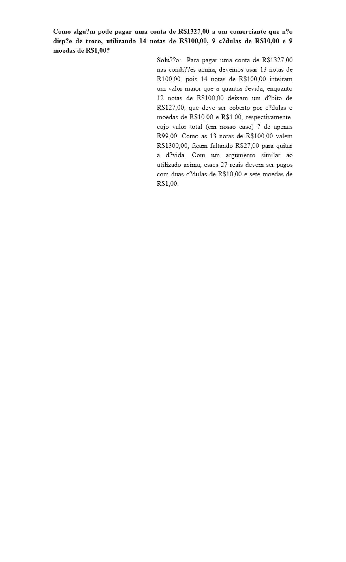 Pre-visualização do material Adição e Subtração de Naturais - página 1