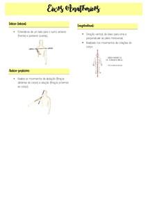 Resumo digitado - Eixos anatômicos