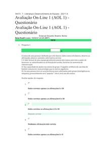 34473 7 - Liderança e Desenvolvimento de Equipes - 20211 A AOLI