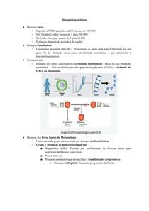 Mucopolissacaridoses