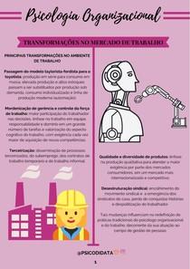 Transformações no mercado de trabalho
