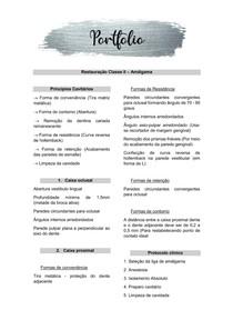 Classe II - Amalgama