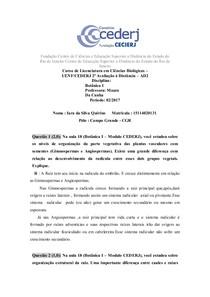 AD2 Botânica - Iara Quirino 15114020131