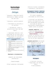 Anestesiologia : Armamentário