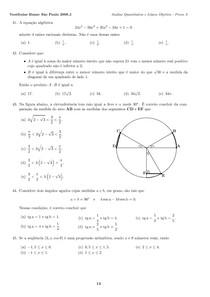 Análise Quantitativa e Lógica Objetiva Insper