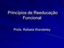 reeducacao funcional