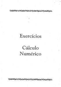 EXERCICIOS  DE PLA