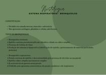Histologia - Sistema respiratório (bronquíolos)