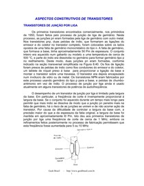 Aspectos de Transistores