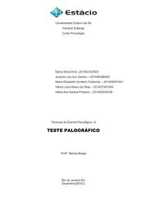 AV2 TESTE PALOGRAFICO MARISA  ORIGINAL