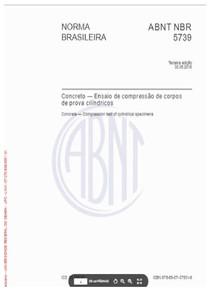ABNT NBR 5739:2018