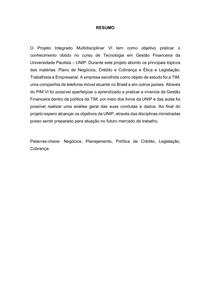 PIM 6 - TIM-GESTAO FINANCEIRA