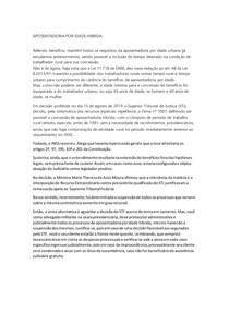 APOSENTADORIA POR IDADE HIBRIDA