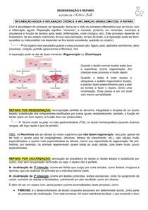 REGENERAÇÃO E REPARO CELULAR (POR REBECA ZILLI)