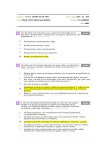 Prova - GST0070 - ADM.DE SIS. DE INFO.