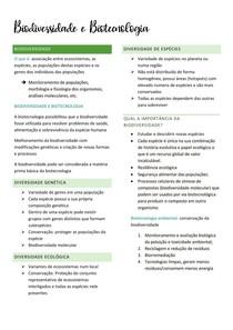 Biodiversidade e Biotecnologia