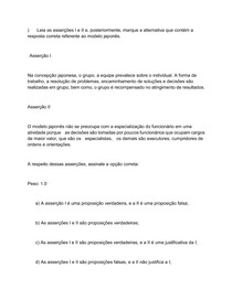 ATIVIDADE AVALIATIVA OBJETIVA DE G1 - segunda atividade avaliativa